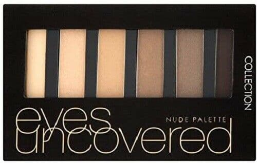 12 x Collection Eyes Uncovered Palette | NUDE | Let Your Eyes Do The Talking |